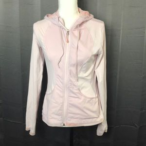 Lululemon Light Pink Hooded Jacket